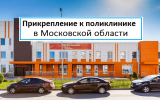 Прикрепление к поликлинике в Московской области