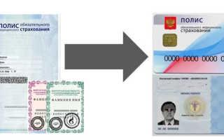 Замена полиса ОМС при смене фамилии и прочих данных