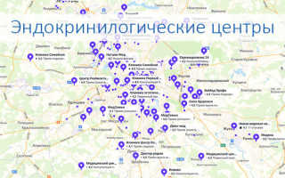 Эндокринологические центры в Москве