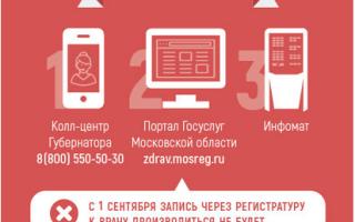 Регистратура и запись к врачу в Серпухове