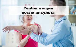 Реабилитация после инсульта в Москве и Подмосковье